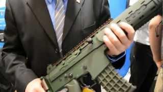 G&G Armament At Shot Show 2013 AK 5C M1 Garand Gold AK47