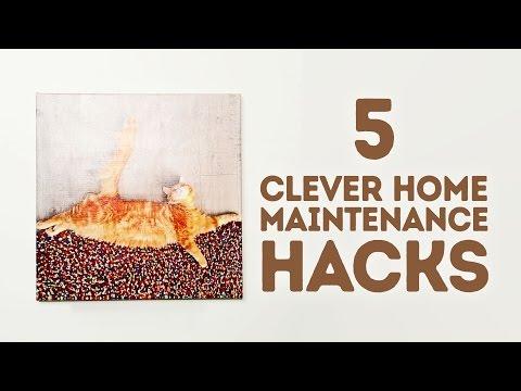 5 simple home maintenance tricks l 5-MINUTE CRAFTS