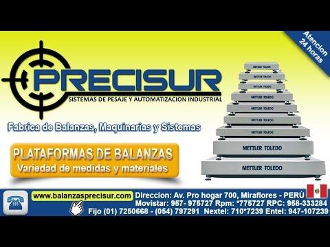 Balanzas electronicas digitales lima - Peru :: PRECISUR PERU ::