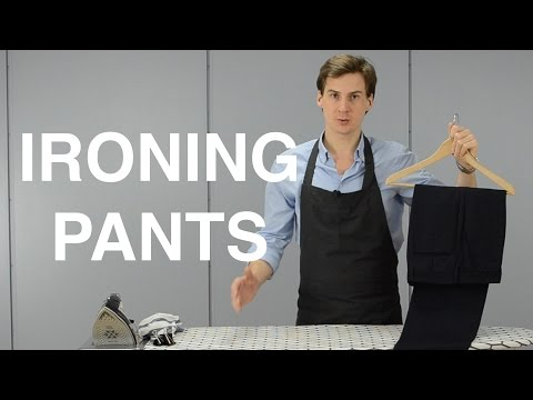 Use Binder Clips While Ironing To Keep Your Pants In Place