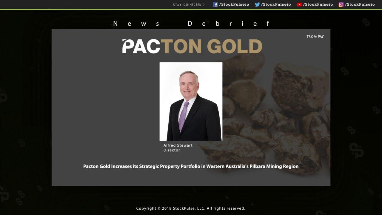 Pacton Gold Increases its Strategic Property Portfolio in Western Australia