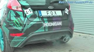 Video: FOX Sportauspuffanlage Ford Fiesta ST MK7 Typ JA8 by Dein-Sportauspuff.de