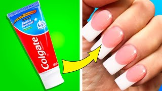 36 EASY NAIL AND MANICURE HACKS YOU MUST KNOW