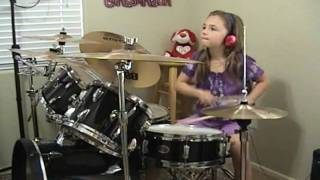 """AC/DC """"Who Made Who Live 92"""" a Drum Cover by Emily"""
