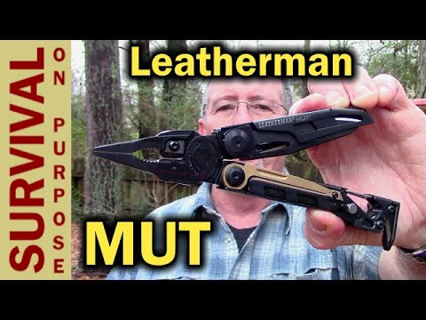 Leatherman MUT Multi Tool For AR 15 Style Rifles