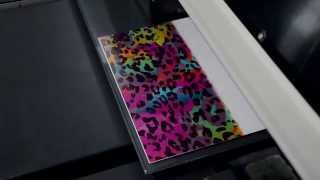 How To Print 3D Effect Image On Aluminum Sheet With APEX Digital Flatbed UV Printer