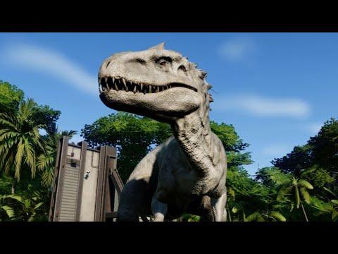 Jurassic World Evolution - All 48 Dinosaurs (1080p 60FPS)