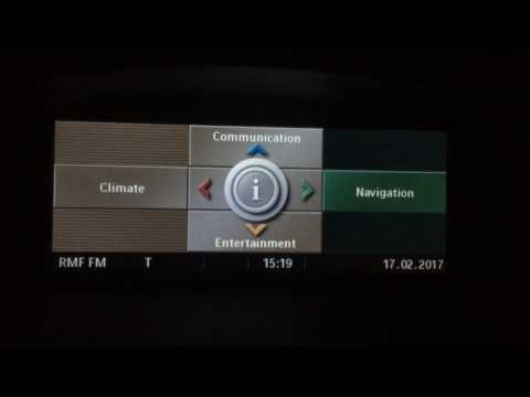 BMW E60 CCC Navigation System 2017 Map