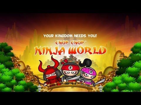 Chop Chop Ninja World - Universal - HD Gameplay Trailer