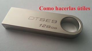 Reparación USB falsos, Tamaño real ¿Cuanta memoria real tiene?