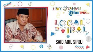 Ketum PBNU Said Aqil Siroj: Semoga Dapat Menyajikan Berita Menyejukkan Bagi Masyarakat Indonesia