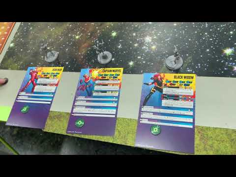 Unboxing de Marvel Crisis Protocol con Generacion X!