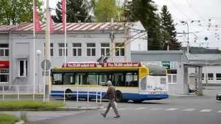 preview picture of video 'Škoda 24 Tr Irisbus ev.č. 56 - Městská doprava Mariánské Lázně s.r.o.'