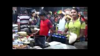 preview picture of video 'Indian Street Fast Foods at Chandannagar'