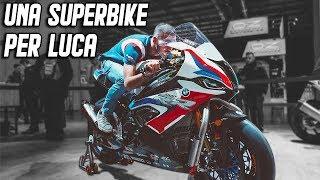 A BMW SUPERBIKE FOR LUCA SALVADORI...EICMA 2019