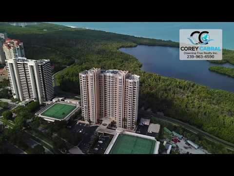 Pelican Bay St. Laurent Naples Florida 360 degree video fly over