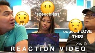 REGINE VELASQUEZ // Say That You Love Me (live At Gma)  LIVE REACTION VIDEO No. 19