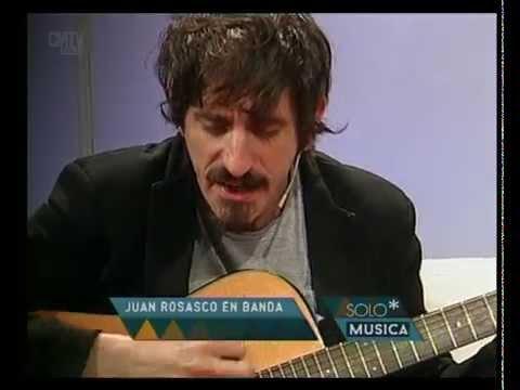 Juan Rosasco en Banda video Hipnosis (Acústico) - Noviembre 2015