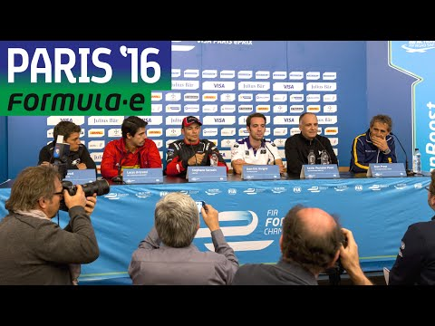 Drivers Discuss Incredible Paris Street Circuit - Formula E