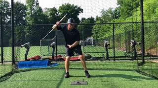 """How to """"Stay Back"""" in the Baseball Swing"""
