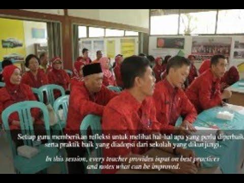 Nganjuk, Jawa Timur – Praktik Inovatif Mengajar Silang