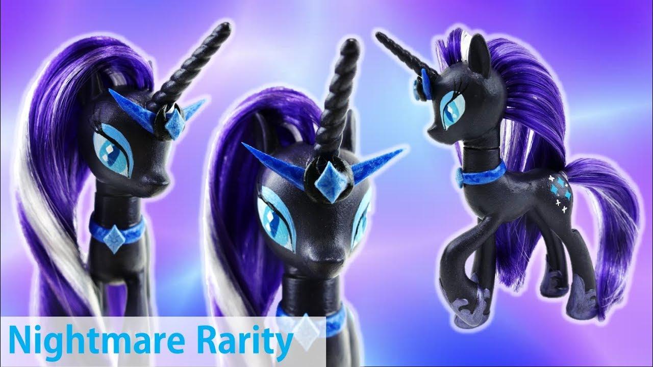 My Little Pony Nightmare Rarity Custom Pony Tutorial