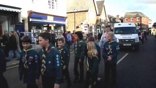 preview picture of video 'Marching To The Church, Oakham. Remembrance Day 2014 Video'