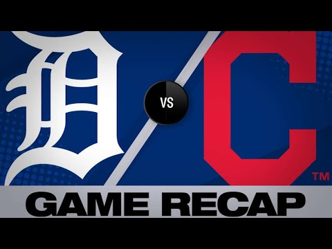 Civale earns 1st MLB win in 2-0 victory   Tigers-Indians Game Highlights 6/22/19