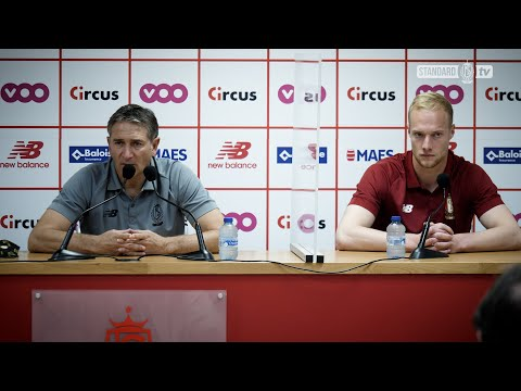 Europa League : Conférence de presse