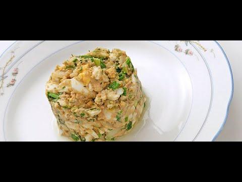 Салат Полковничий от Луча  Праздничный стол. 上校沙拉. The Salad Of Colonel. कर्नल का सलाद