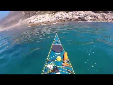 Traino a nuoto con la pagaia groenlandese