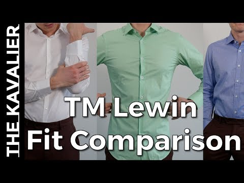 TM Lewin Shirt Review & Fit Comparison (Fitted, Super Fitted, Tailored)