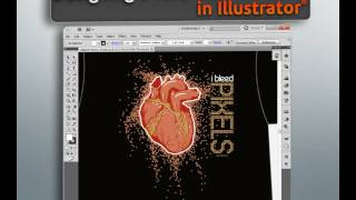 Designing a Two Color T-Shirt in Illustrator CS5