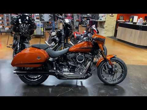 New Customized Harley-Davidson® 2020 Softail Sport Glide For Sale FLSB