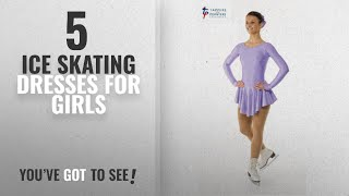 Top 10 Ice Skating Dresses For Girls [2018]: Tappers & Pointers Nylon Lycra And Hologram Foil