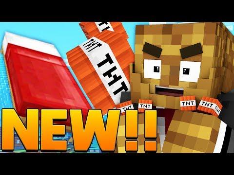Minecraft: TNT LUCKY BLOCK BEDWARS w/ PopularMMOs - Modded Mini-Game