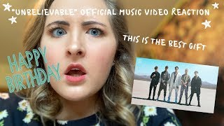 """UNBELIEVABLE"" OFFICIAL MUSIC VIDEO REACTION  WHY DON'T WE  2019"