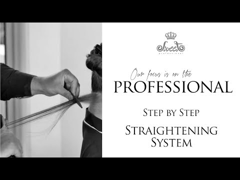 Sweet Hair -  Straightening System Step By Step