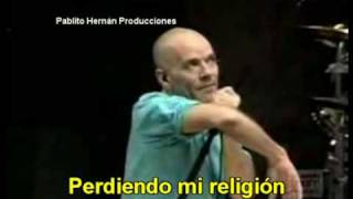 Losing My Religion - R.E.M (subtitulada)