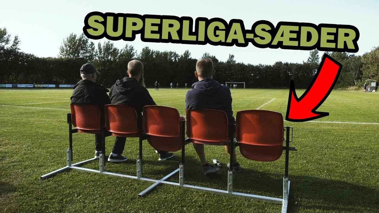 Video: Superliga-sæder flyttet ind på landsby-stadion