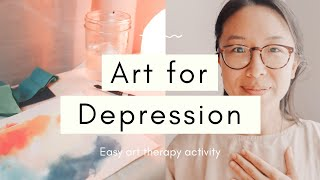 Self Art Therapy Session Activity For Depression