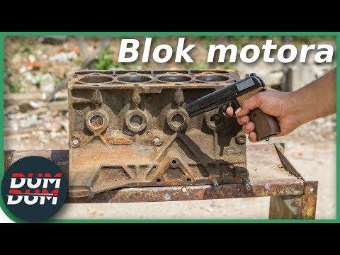 Blok motoru – ochrana před střelbou