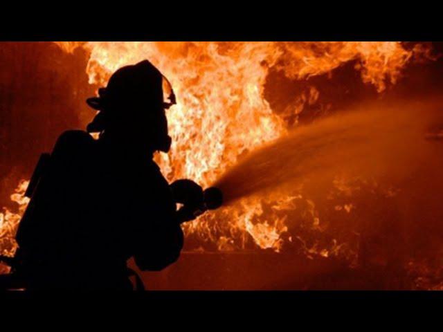 «ПАЗ» сгорел