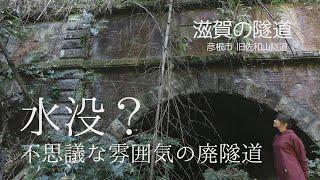 【滋賀の隧道】旧佐和山隧道