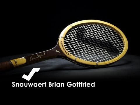Snauwaert Brian Gottfried Wooden Racquet Review