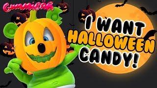 Gambar cover I Want HALLOWEEN Candy GUMMY BEAR SONG Halloween Song by Gummibär
