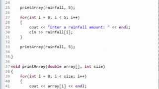 Download Youtube: C++ Programming: Passing Arrays to Functions