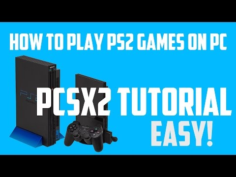 How To Play PS2 Games On A Pc Or Laptop (PCSX2) Tutorial - игровое