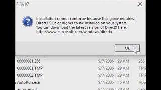 battlefield 2 directx fix ( Error! Directx version 9 0c or