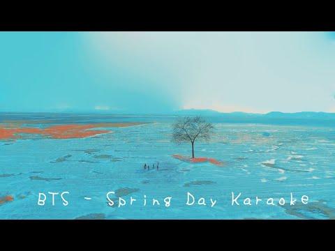 BTS - Spring Day English Karaoke